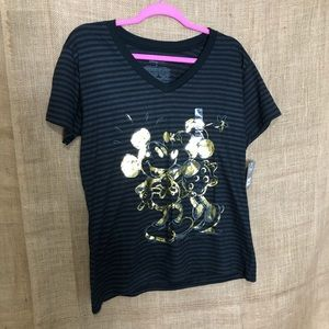 Disney Store SZ XL Mickey Mouse Minnie Shirt NEW